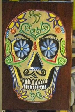 Custom Made Day Of The Dead (Dod) Carvings