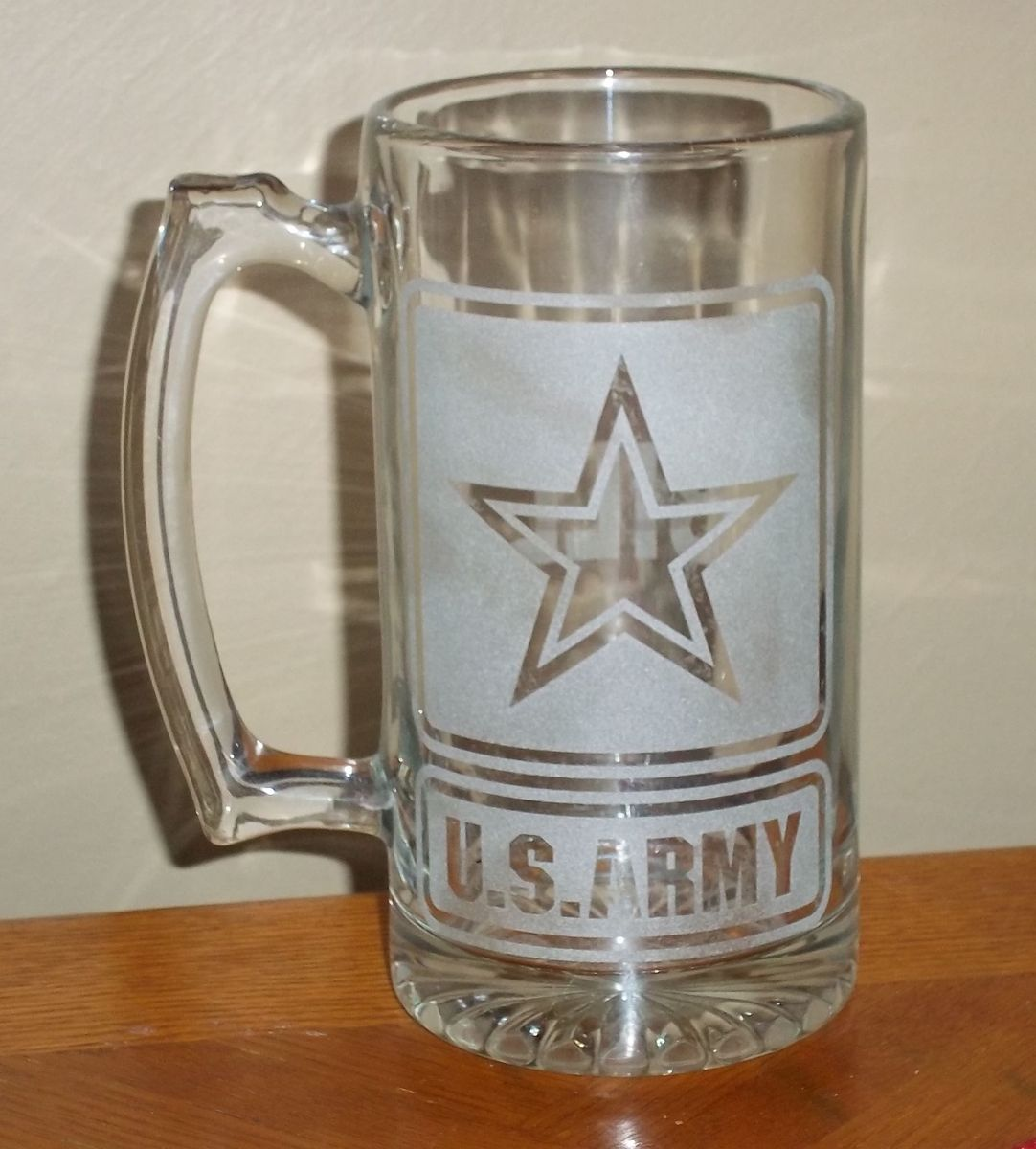 handmade custom etched beer mugs by c r signs custommade com