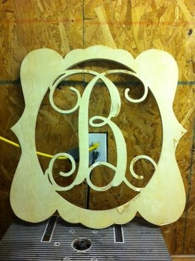 Custom Made Letters In Various Shapes And Sizes