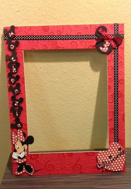Custom Made Minnie Inspired 11x14 Photo Mat