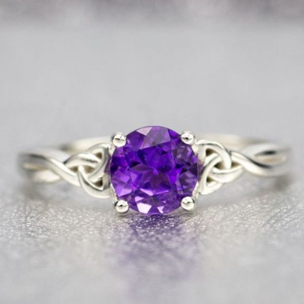 Amethyst Engagement Rings Custommade Com