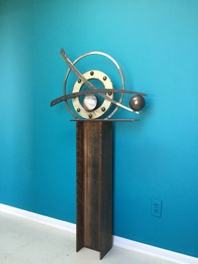 Custom Made Industrial Sculpture Contemporary Modern