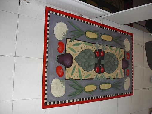 Custom Made Painted Floor Cloths