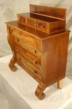 Custom Made Antique Mahogany Chest Of Drawers Restoration