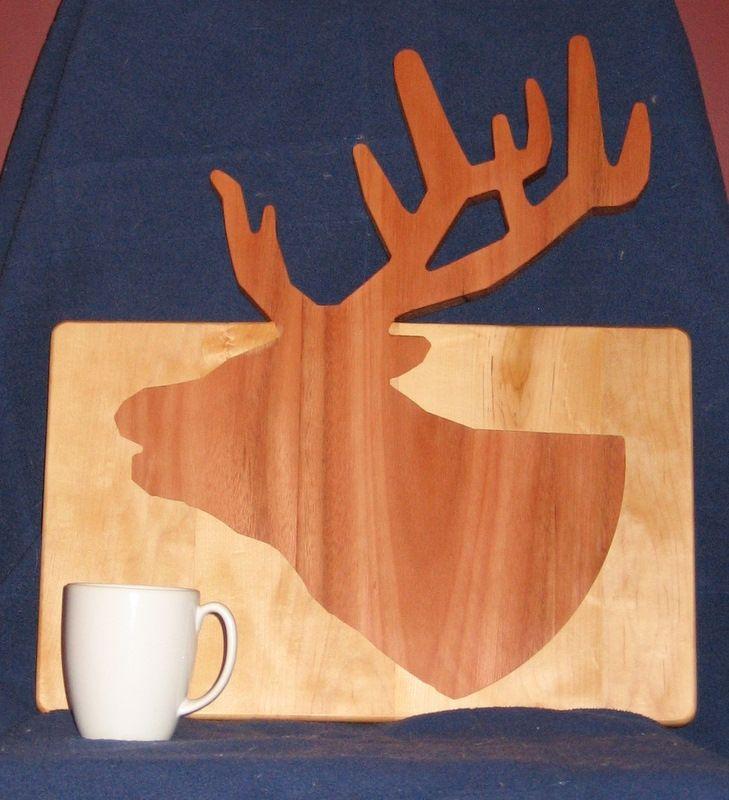 Handmade Custom Shaped Cutting Board By Woodwright