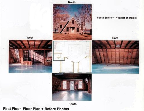 Custom Made Custom Design/Build Lakeside Cottage Whole House Remodeling Project