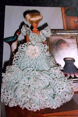 Custom Made Barbie Gown With Train