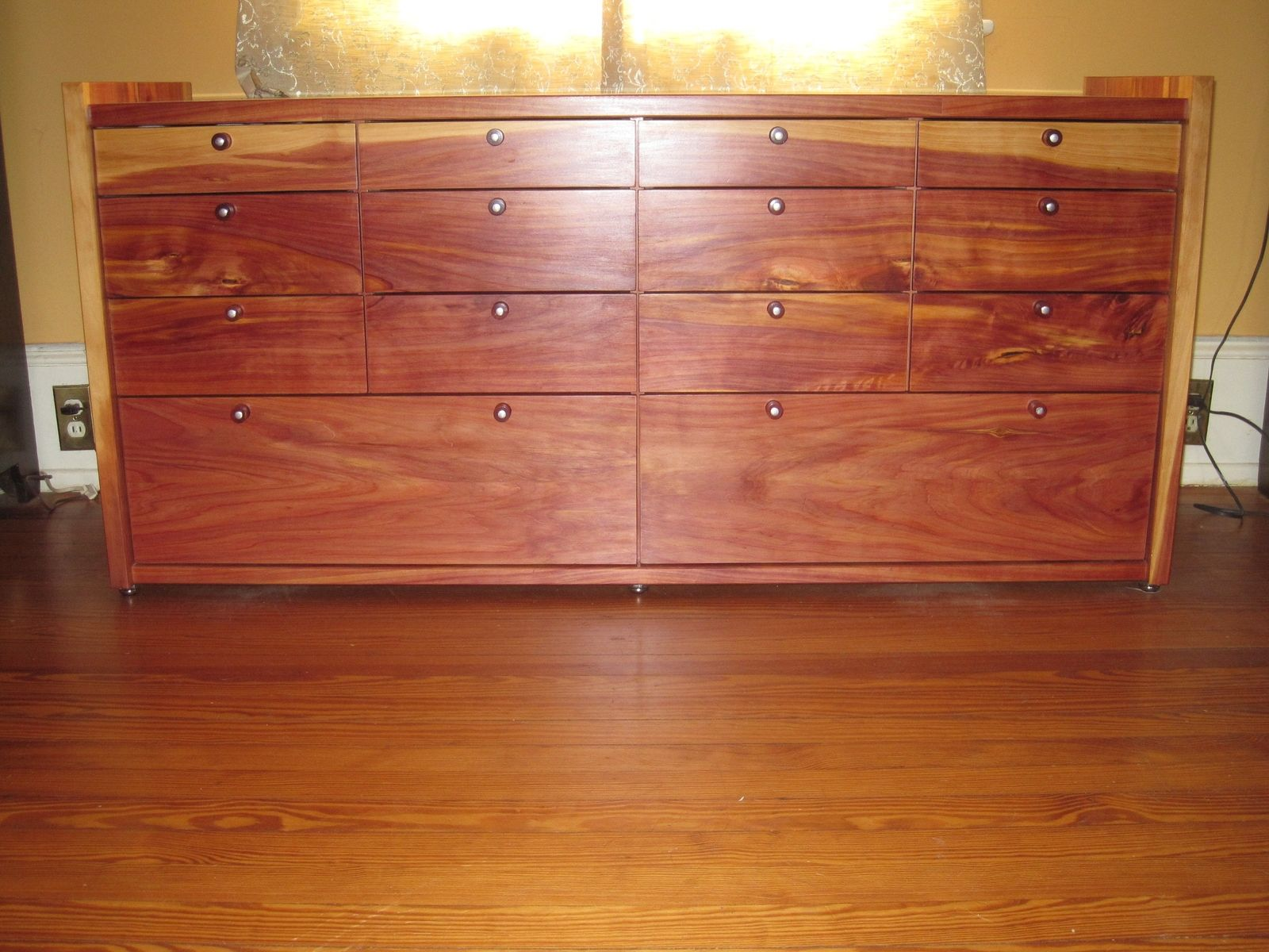 Custom Made Cedar Chest Of Drawers