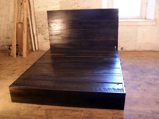 Reclaimed Wood Platform Bed - Buy A Hand Made Reclaimed Wood Platform Bed, Made To Order From