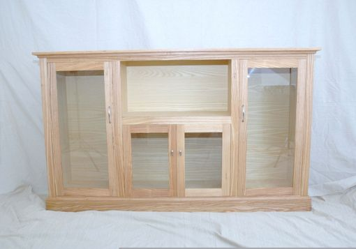 Custom Made Ash Entertainment Cabinet