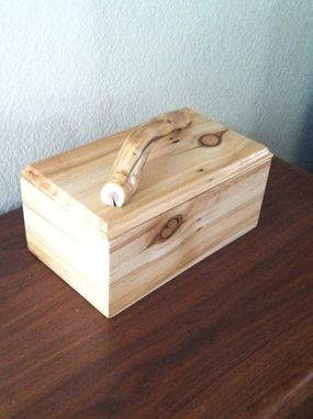 Custom Made Handmade Aspen Wood Box
