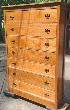 Custom Made 7-Drawer Cherry Dresser
