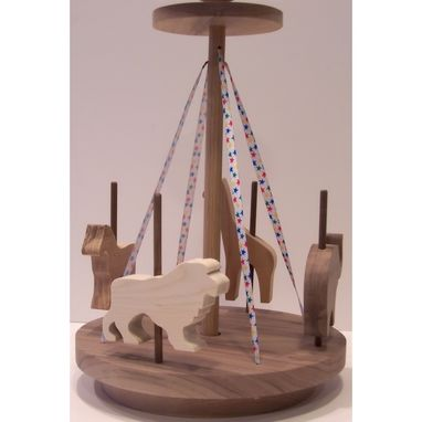 Custom Made Walnut Merry Go Round