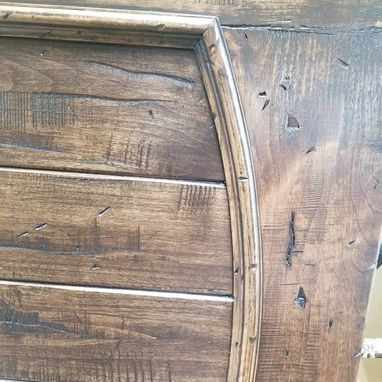 Custom Made Rustic Distressed Knotty Alder Doors