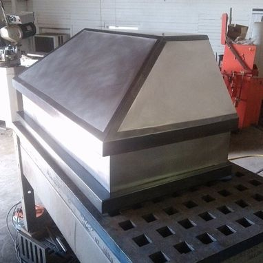 "Custom Made 48"" Range Hood In Non Directional Stainless"