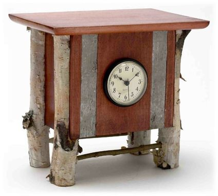 Custom Made Rustic Clock 2