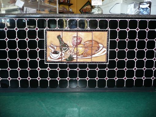 Custom Made Delli Mural (Entry Way Front Counter)
