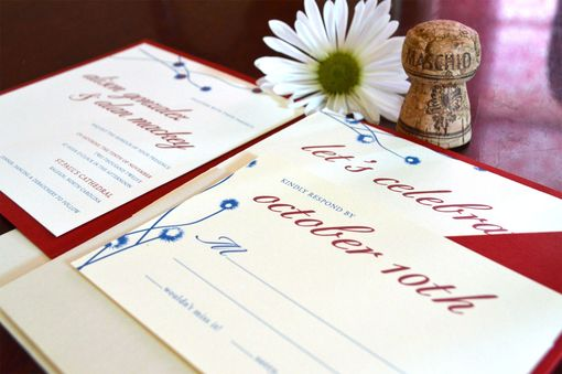Custom Made Wedding Invitation Suite