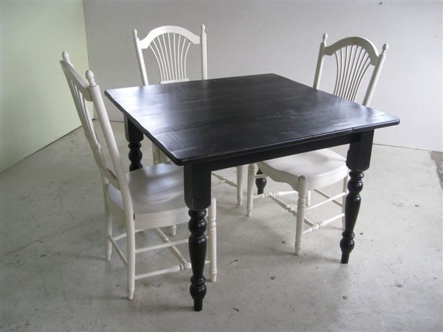 Hand Made Small Square Dining Table For Kitchen Or Dining
