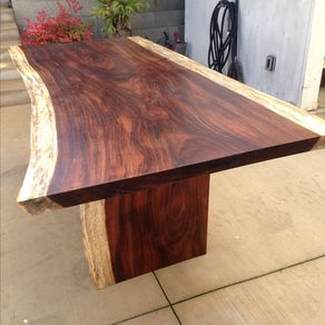 Exotic Slab Dining Table By Neiko Pagaduan