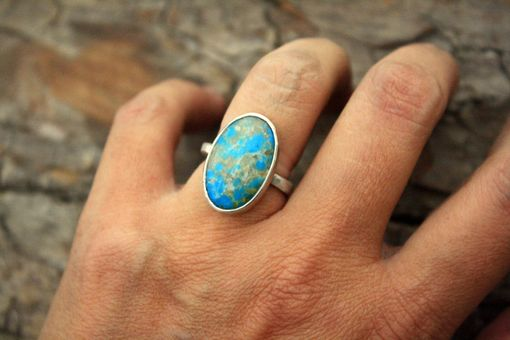 Custom Made Compass Mine Turquoise Stone - Choose Your Stone