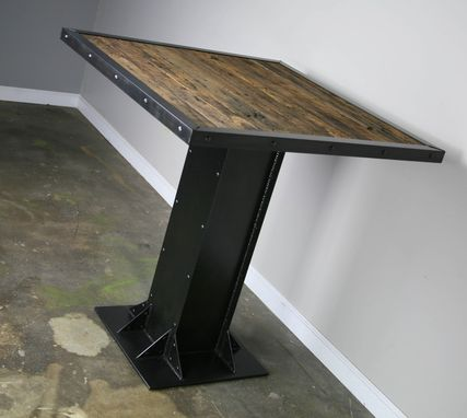 Buy A Hand Made Bistro Dining Table Modern Industrial