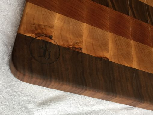 Custom Made Hardwood End Grain Cutting Board