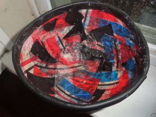 Custom Made Paper Mache Bowl