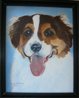 Custom Made Beckett--Custom Dog Pet Portrait