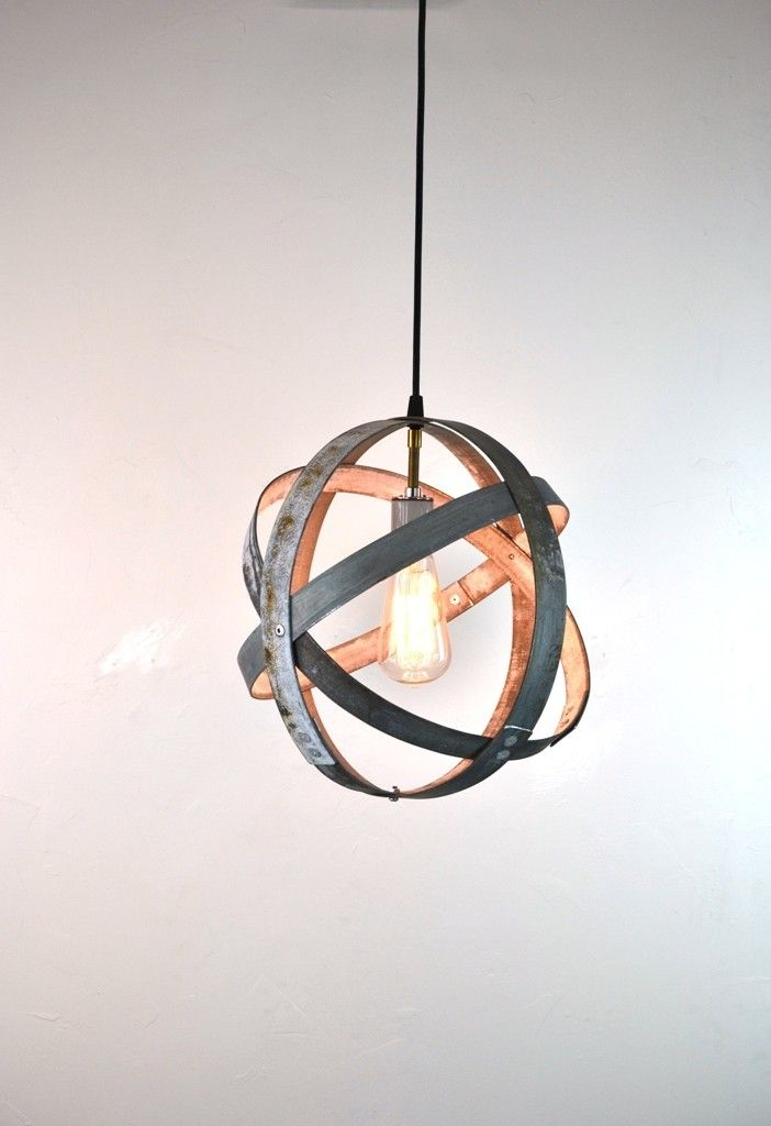 Atom Barrel Ring Pendant Light