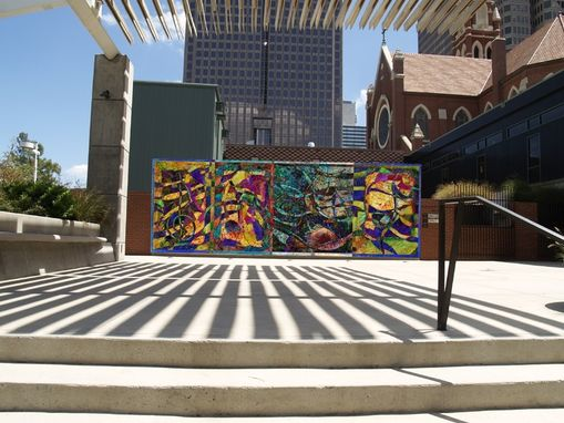 Custom Made Catholic Foundation Plaza Mural