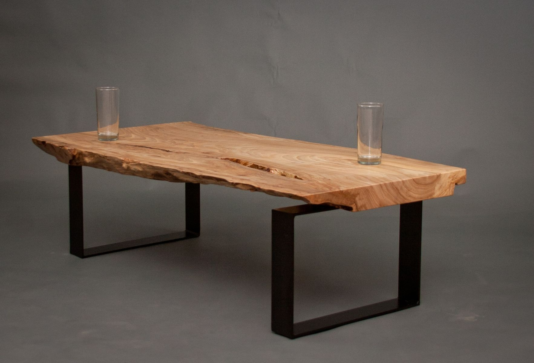 Hand Made Ellington Reclaimed Elm Wood Coffee Table by ELPIS
