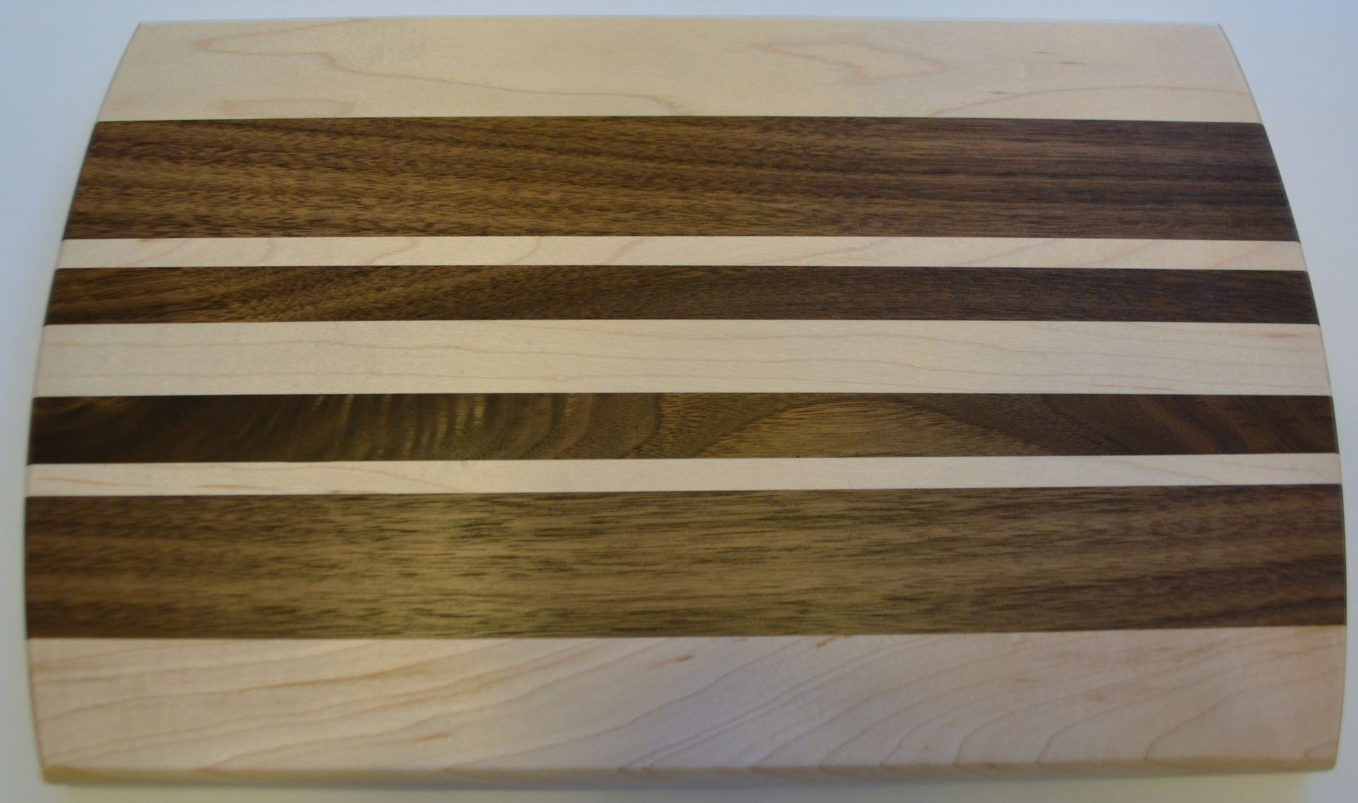 handmade handcrafted walnut and maple long grain cutting board by, Kitchen design