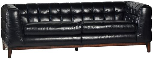 Custom Made Miranda Vintage Leather Sofa