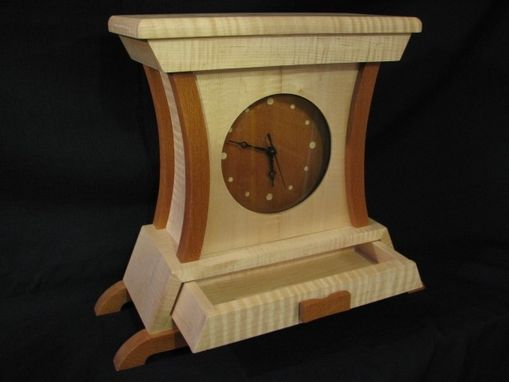 Custom Made Solid Wood Clock