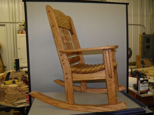 Custom Made Childrens Rocking Chair