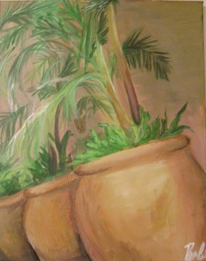 Custom Made Acrylic Painting- California Plants