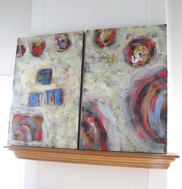 Custom Made Pastel Abstract Painting Expressionist Original Art Canvas