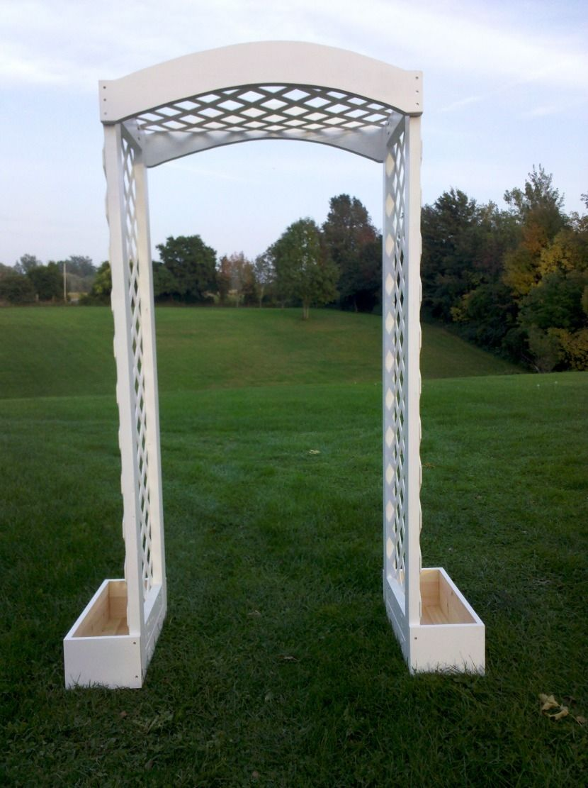 Handmade Garden Wedding Arbor By Windy Woods Woodworking