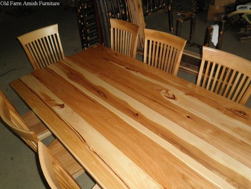 Custom Made Dining Room Table & Chairs
