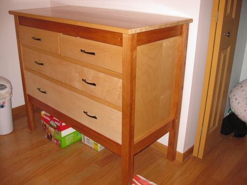 Custom Made Maple Chest Of Drawers