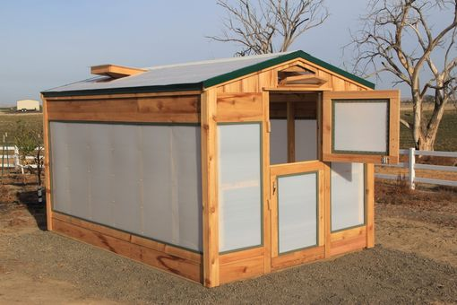 Custom Made Cedar Greenhouse
