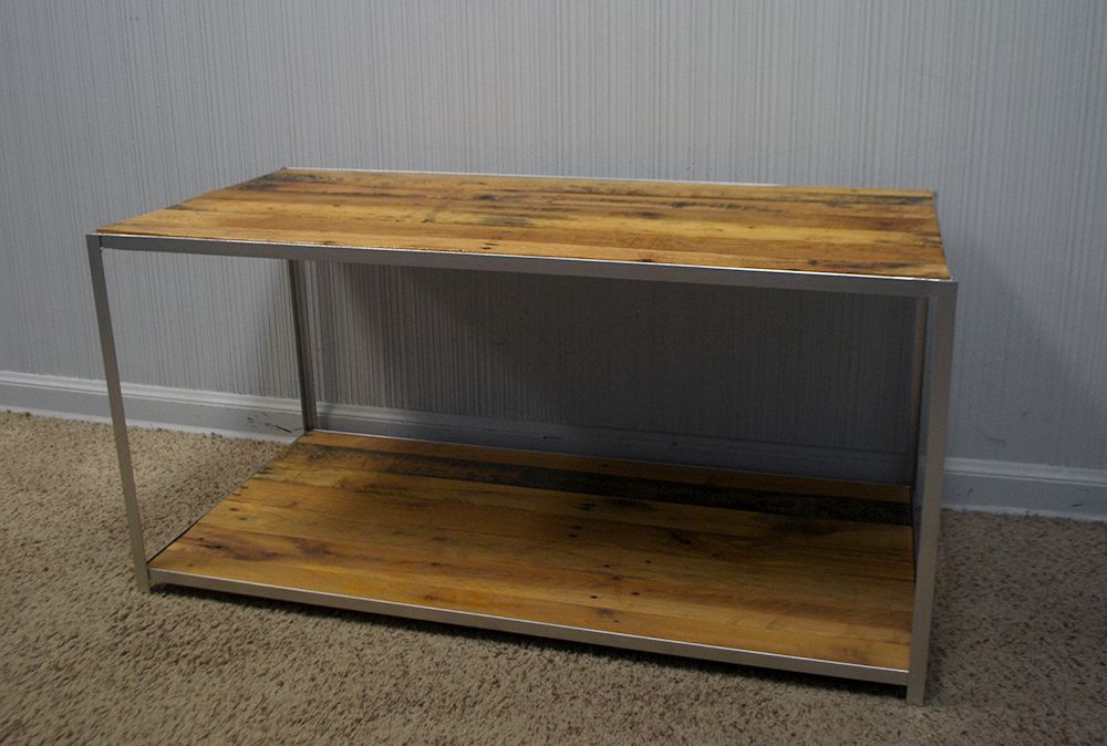Custom Made New Orleans Coffee Table Rustic Reclaimed Wood