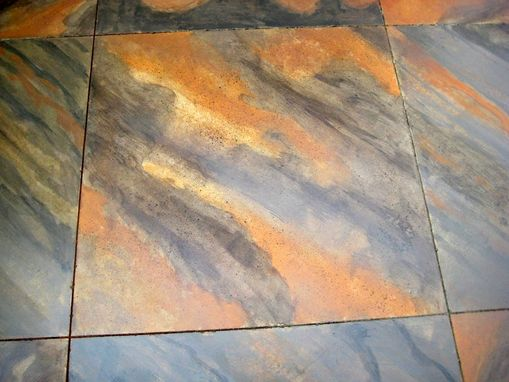 Custom Made Stained Decorative Concrete