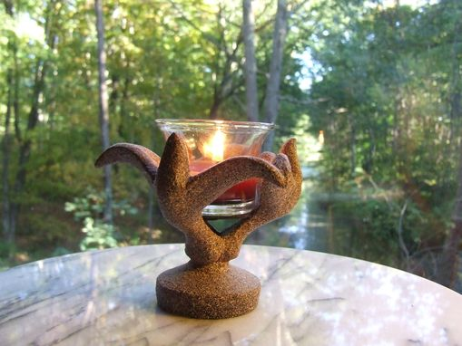 Custom Made Votive Candle Holder/Individually Cast