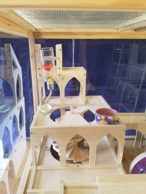Custom Made Pet Palace / Animal Home / Furniture For Fluffers