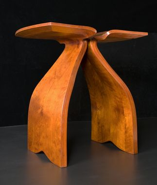 Custom Made Bent Wood Leaftable