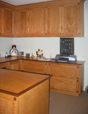 Custom Made Home Office Cabinetry