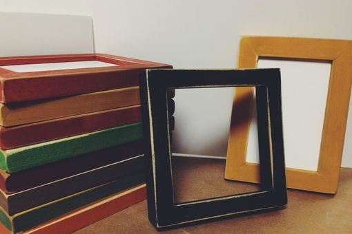 Custom Made Instagram Photo Picture Frames - 4x4 5x5 6x6 8x8 10x10 8x10 5x7 4x6 Colorful Handmade Picture Frames