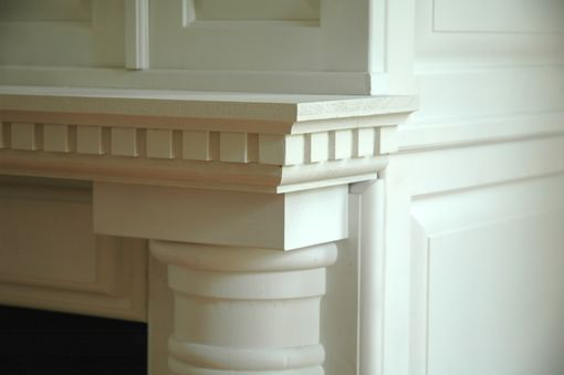 Custom Made Historic Fireplace Mantel Renovation